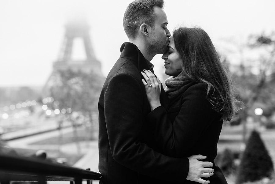 Demande en mariage à Paris 5