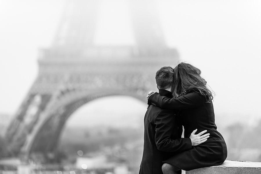 Demande en mariage à Paris 10