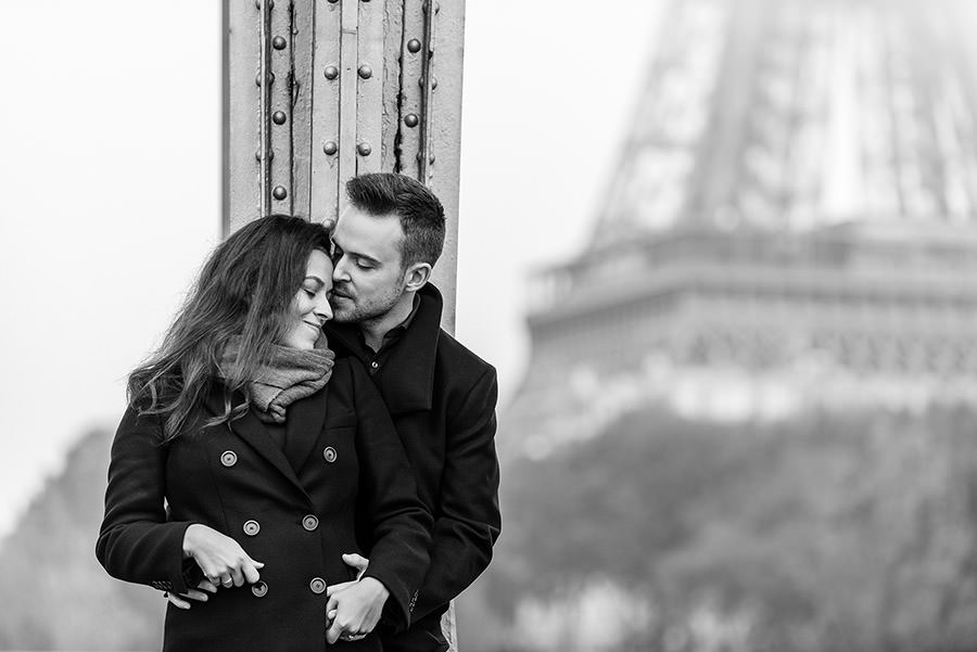 Demande en mariage à Paris 15