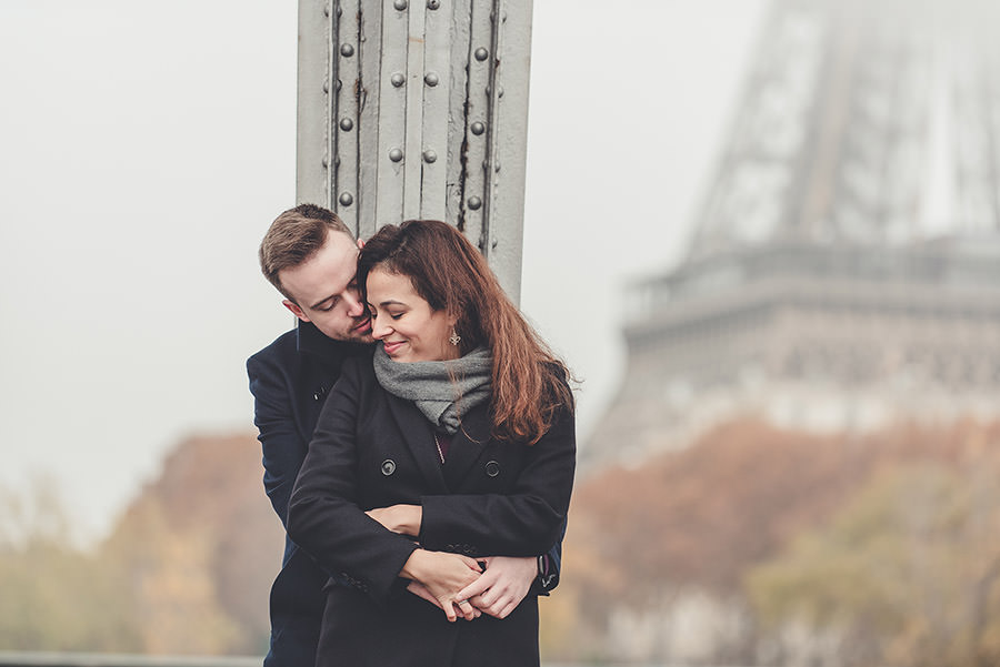 Demande en mariage à Paris 16