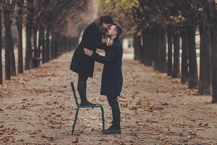 Demande en mariage à Paris 20