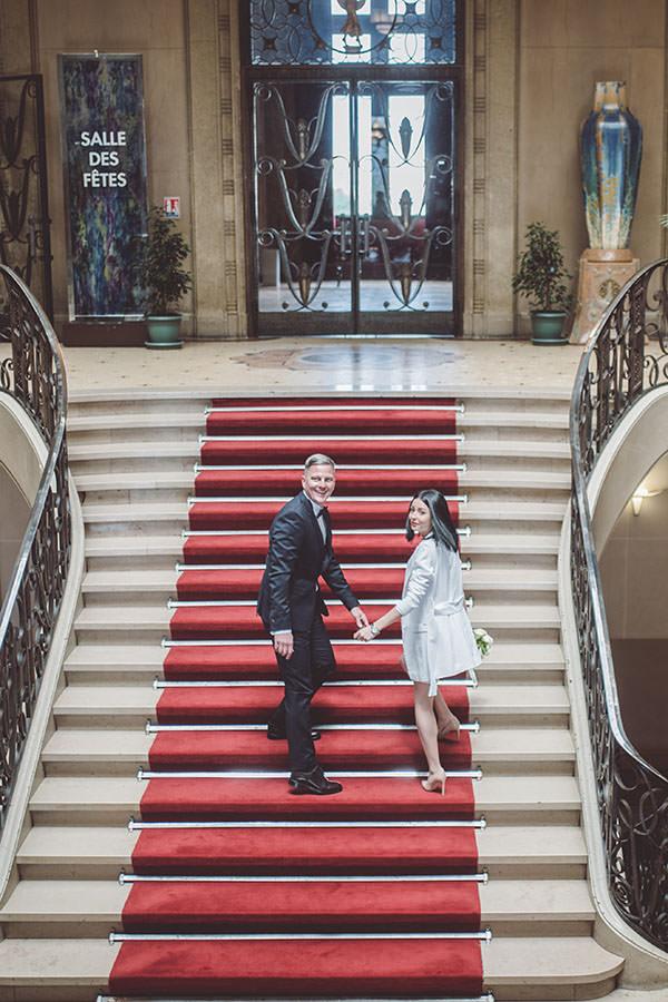 le mariage à la mairie de paris