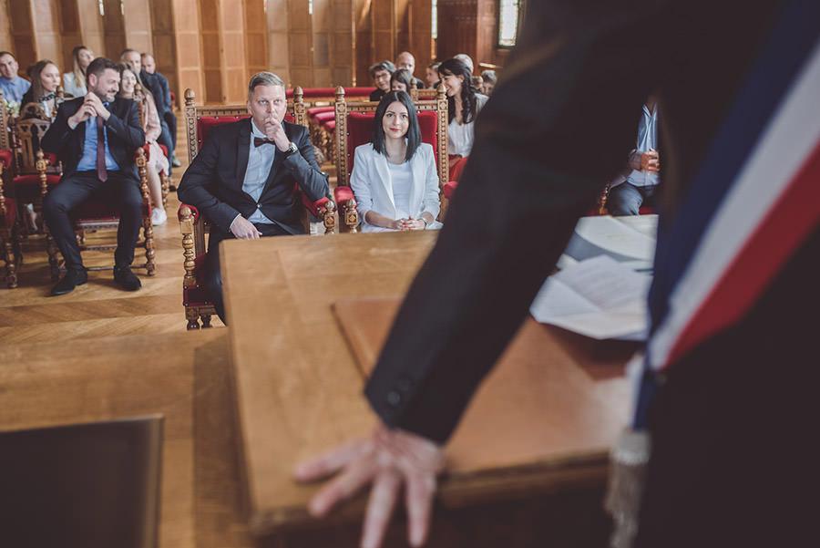 le discours du maire au mariage