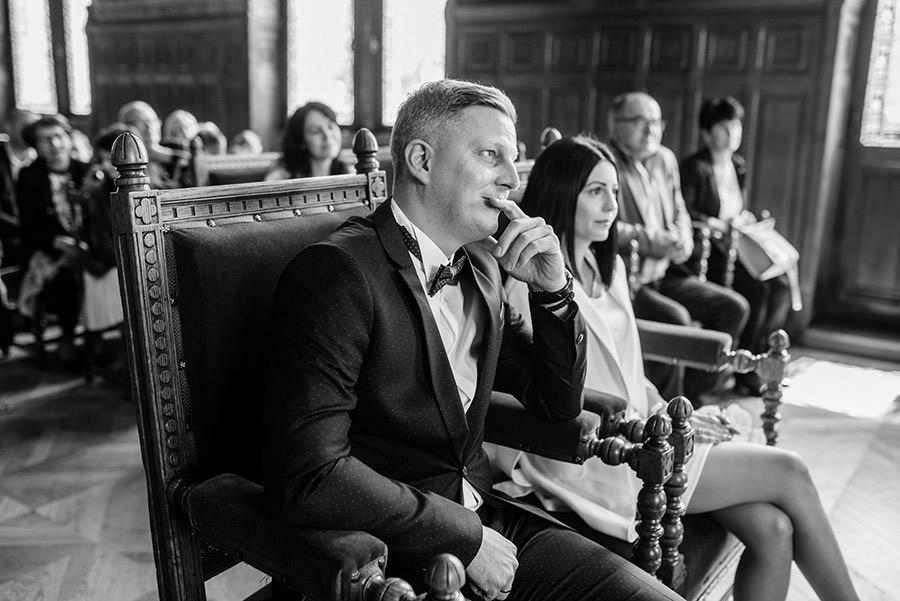 le discours du maire à la mairie