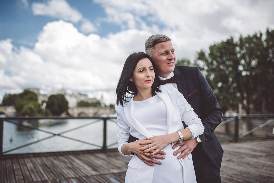 Mariage intime à la mairie, balade dans Paris 2