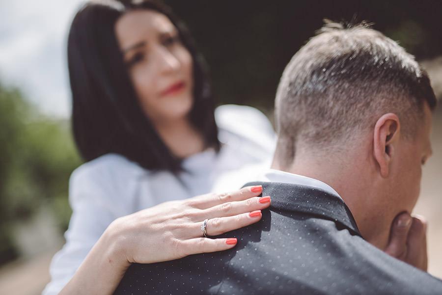 alliance de la mariée