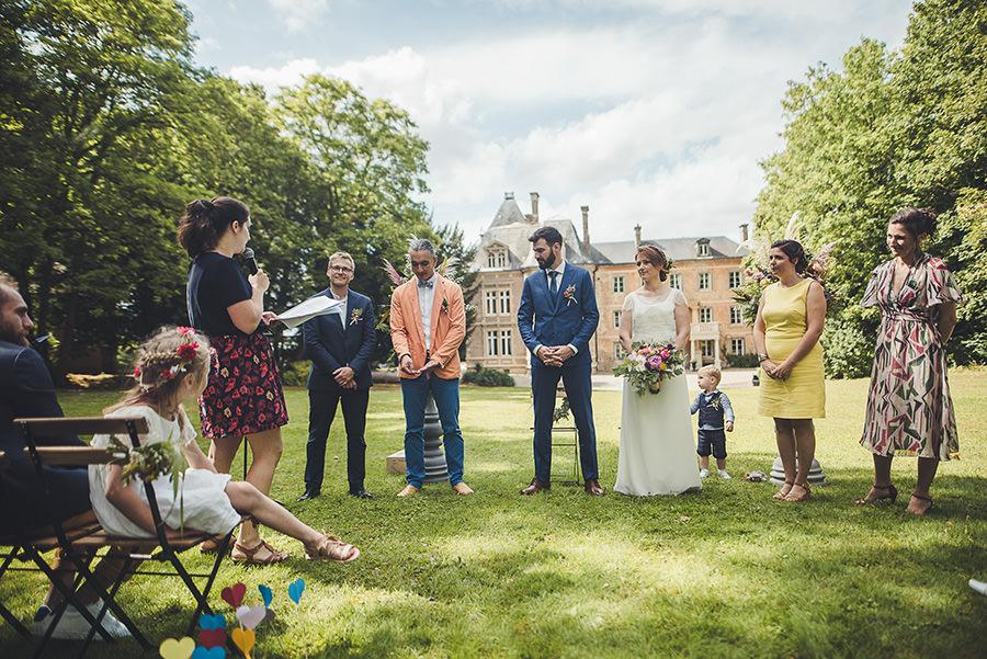 mariage au château de Flixecourt