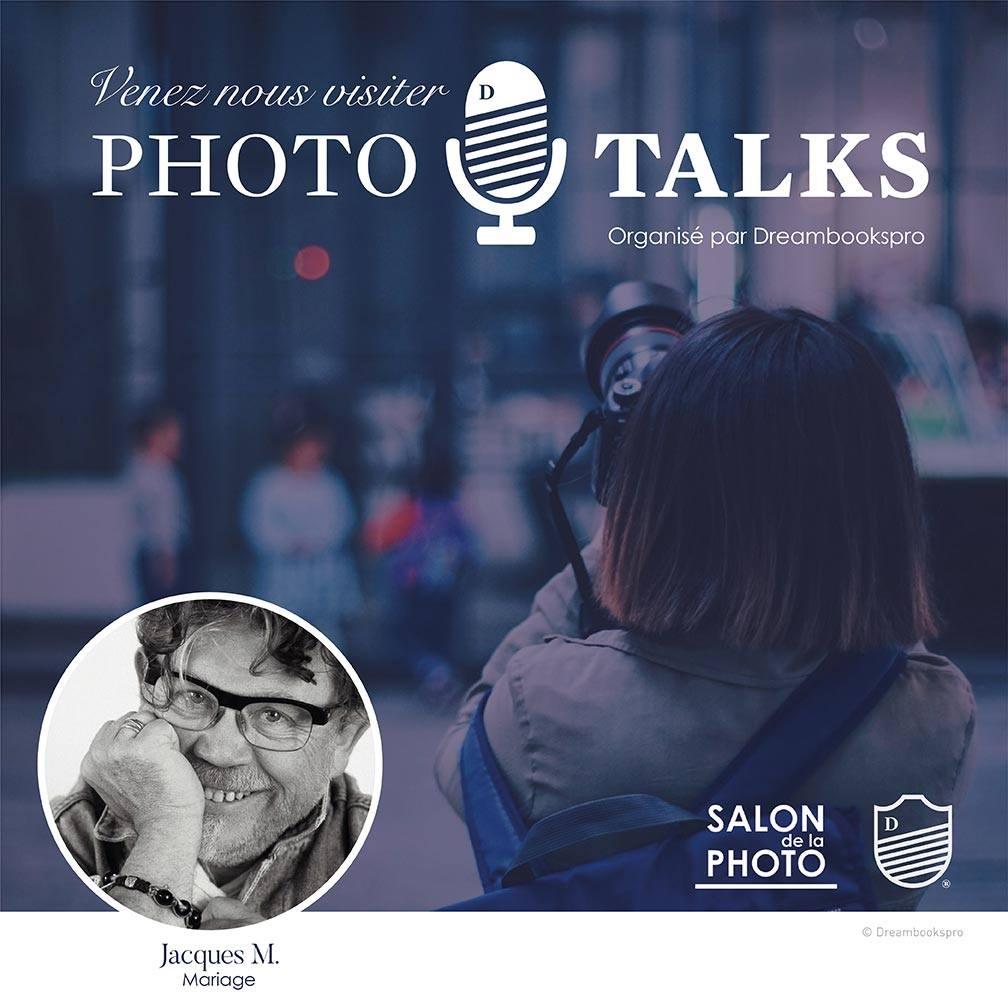 Mini Conférence au salon de la photo 2019