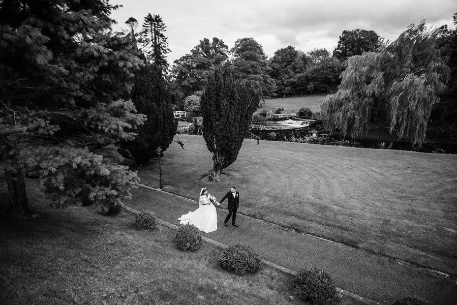 le beau parc du château de Bellingham