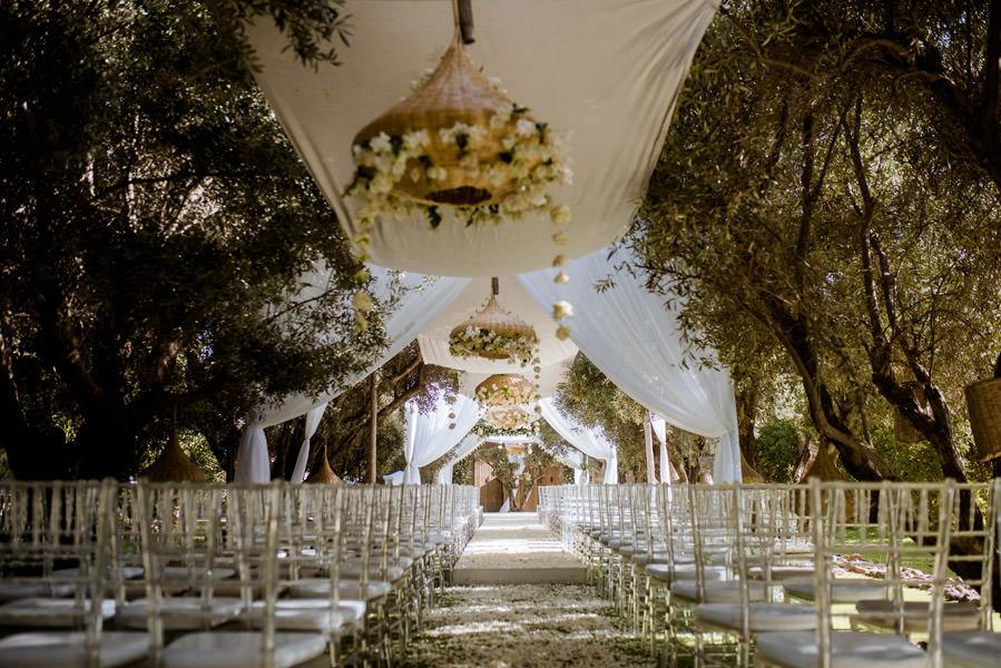 Mariage à Marrakech, palmiers et piscine 13