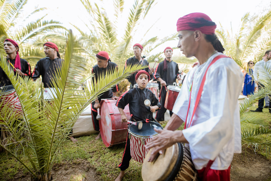 Mariage à Marrakech, palmiers et piscine 29