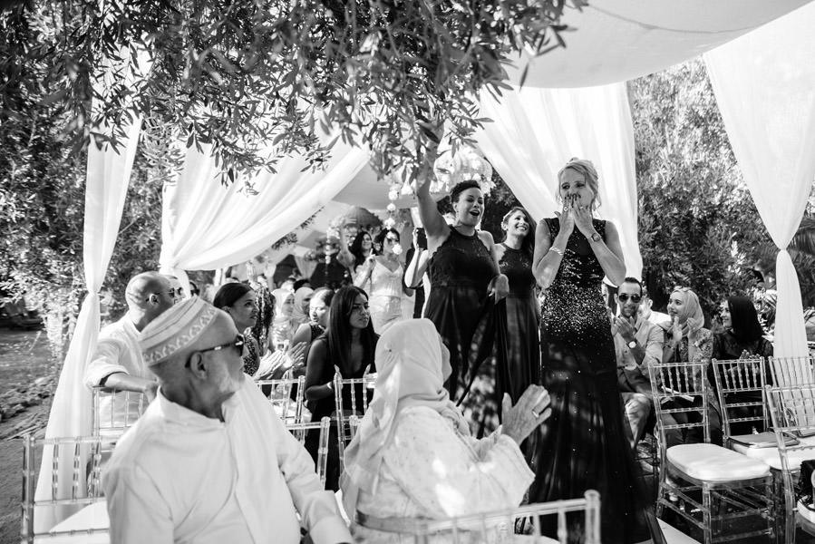 Mariage à Marrakech, palmiers et piscine 31