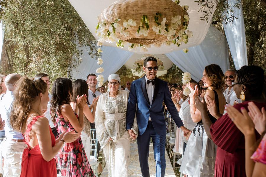 Mariage à Marrakech, palmiers et piscine 33