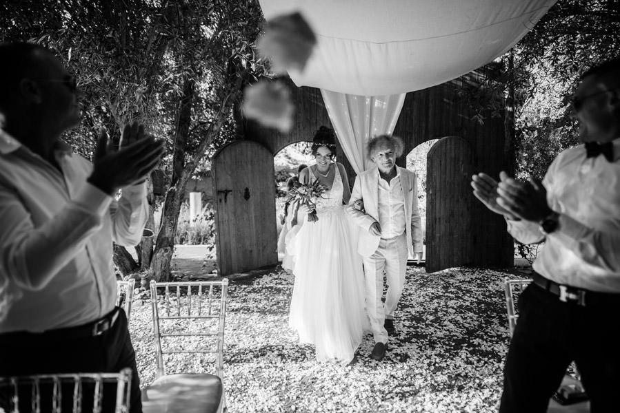 Mariage à Marrakech, palmiers et piscine 35
