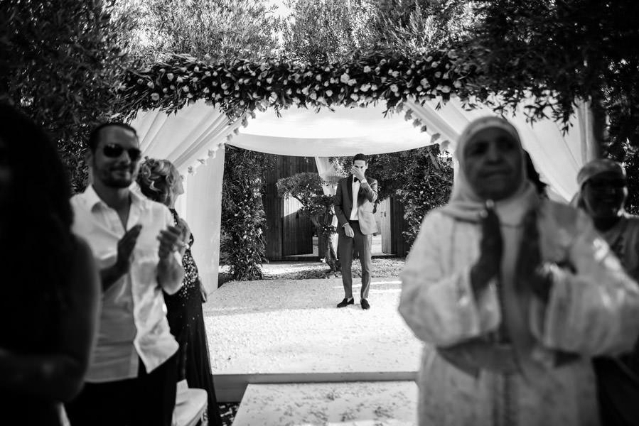 Mariage à Marrakech, palmiers et piscine 36