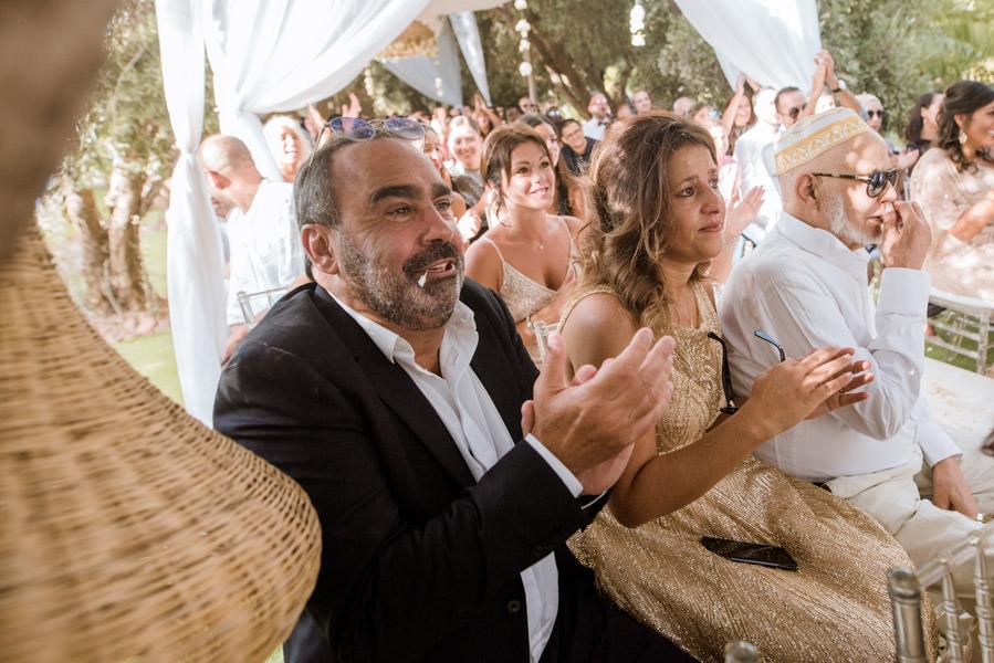 Mariage à Marrakech, palmiers et piscine 38