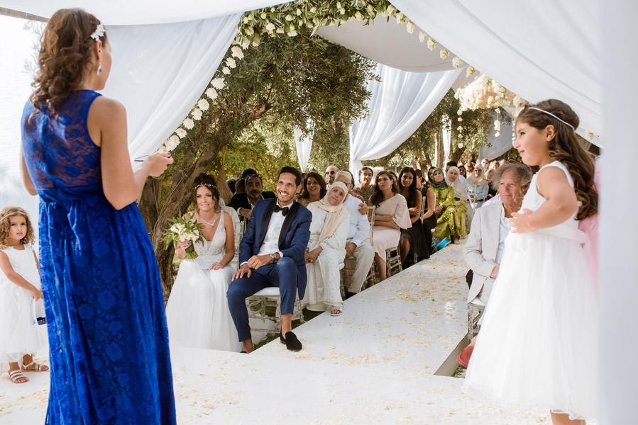 Mariage à Marrakech, palmiers et piscine 43