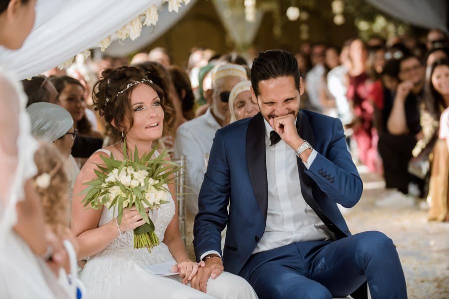 Mariage à Marrakech, palmiers et piscine 45