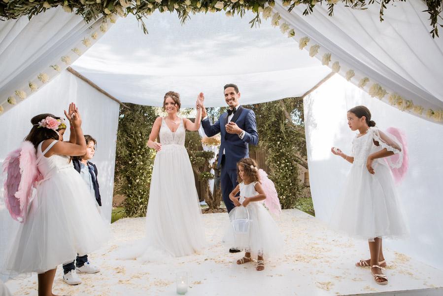 Mariage à Marrakech, palmiers et piscine 52