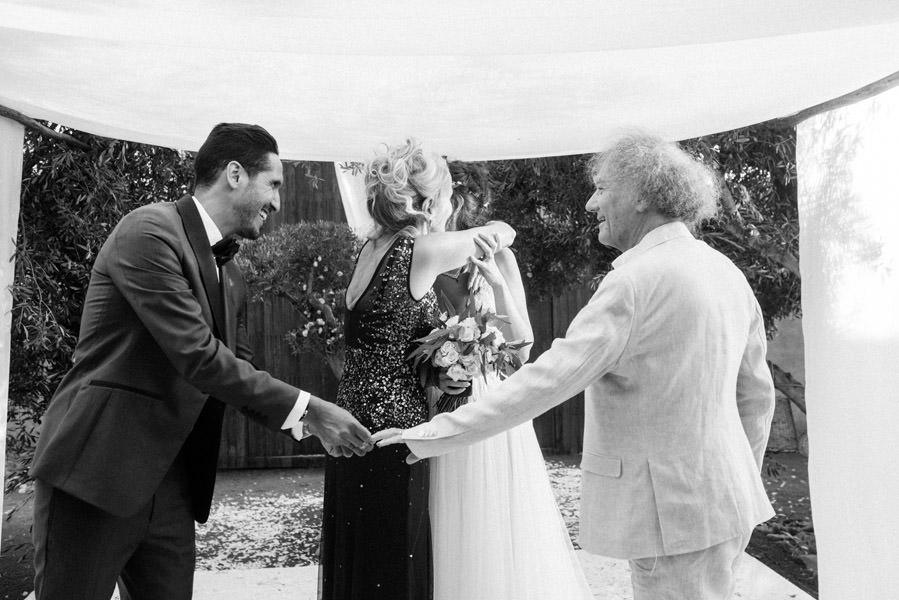 Mariage à Marrakech, palmiers et piscine 54