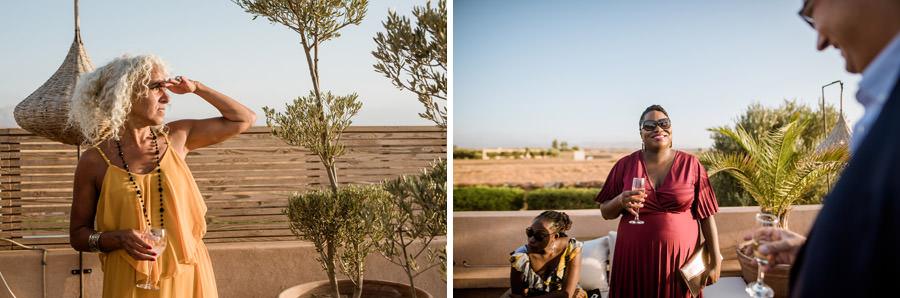 Mariage à Marrakech, palmiers et piscine 55