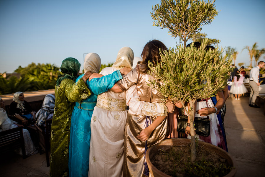 Mariage à Marrakech, palmiers et piscine 56
