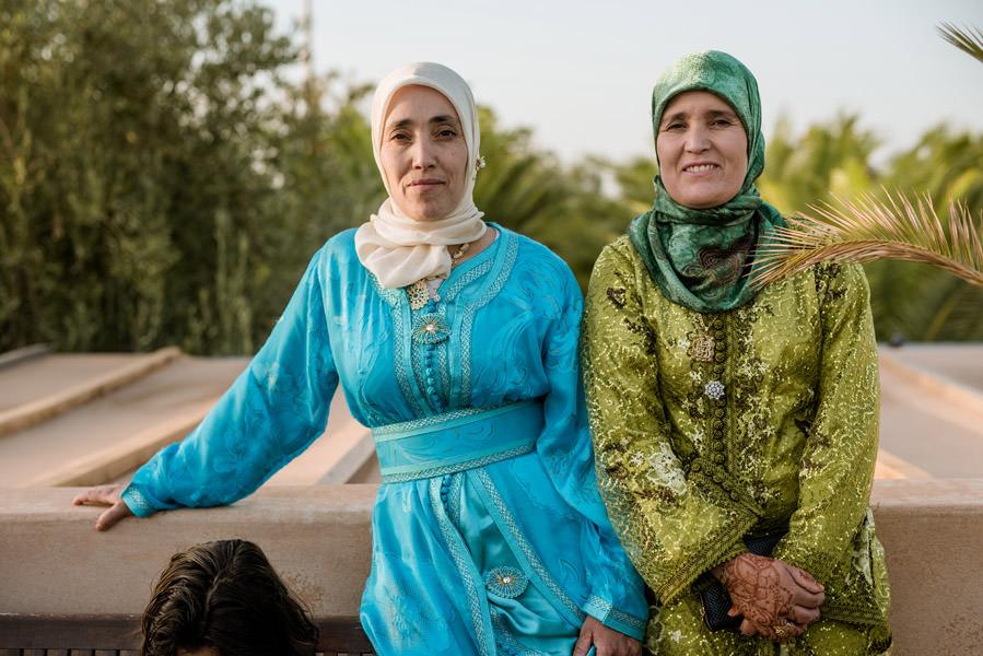 Mariage à Marrakech, palmiers et piscine 58