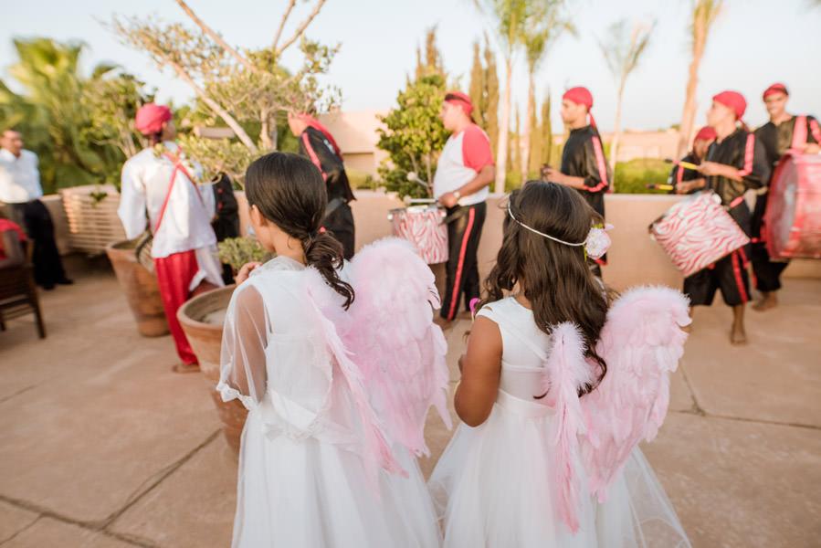Mariage à Marrakech, palmiers et piscine 61