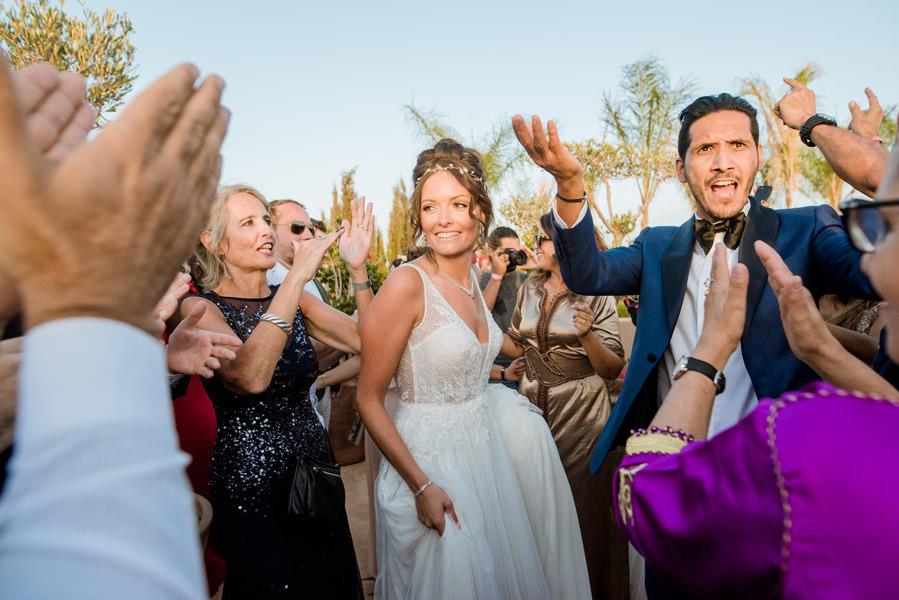 Mariage à Marrakech, palmiers et piscine 62