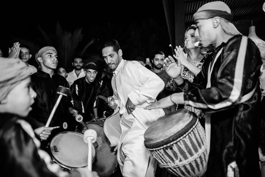 Mariage à Marrakech, palmiers et piscine 72