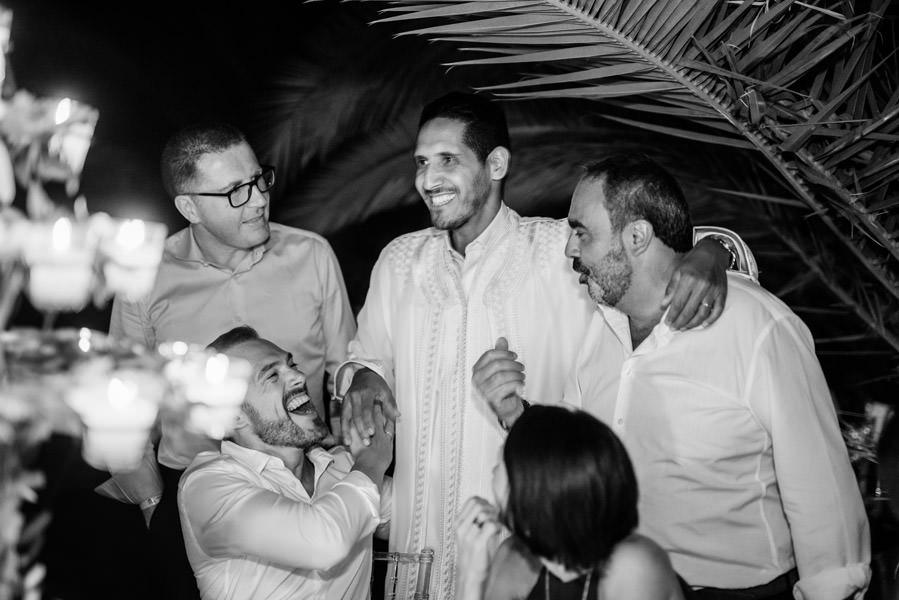 Mariage à Marrakech, palmiers et piscine 73