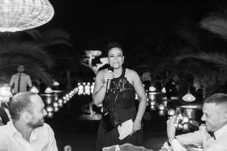 Mariage à Marrakech, palmiers et piscine 76