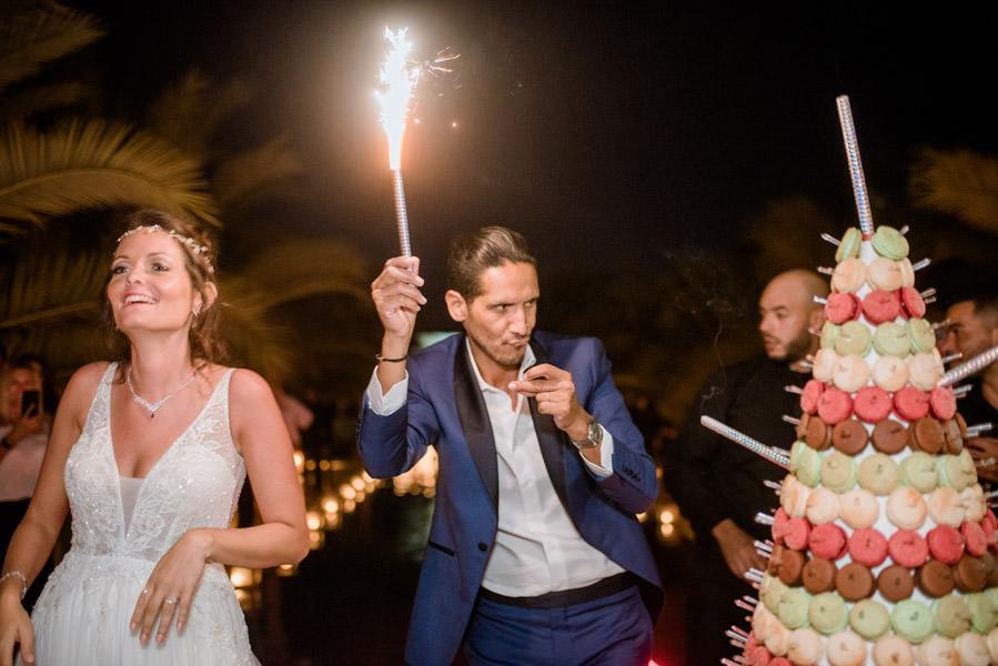 Mariage à Marrakech, palmiers et piscine 80