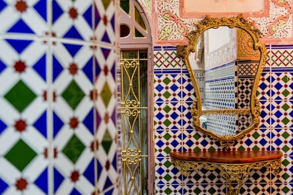 Les cé&ramiques de Meknes, Maroc