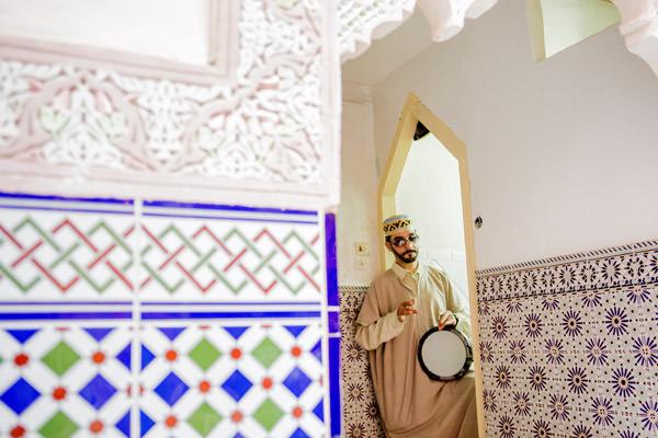 les ruelles de la Medina, Meknes, Maroc