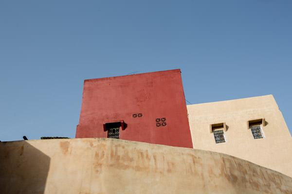 les couelurs des Ryads Meknes, Maroc