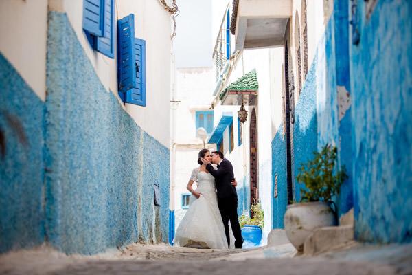 le couple dans la Medina
