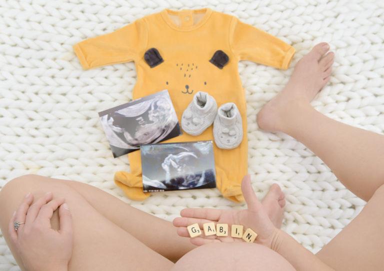 Photos de grossesse avec le sourire 2