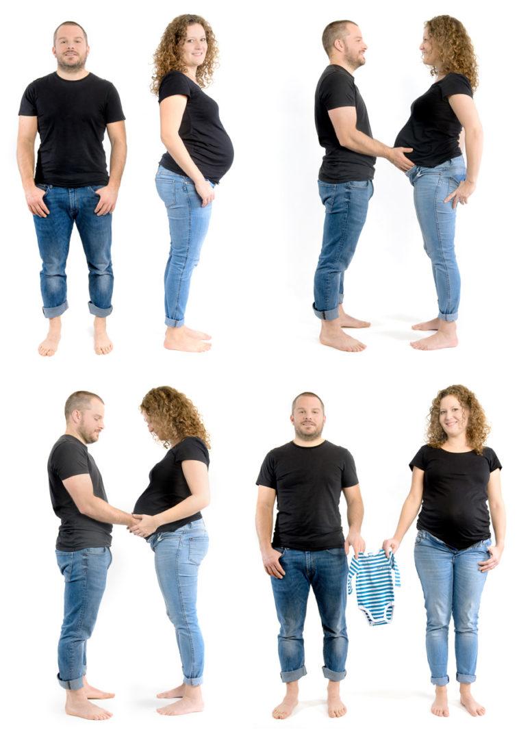 4 photos pour annoncer un grossesse garçon