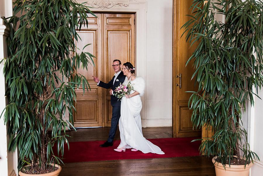 Mariage d'hiver à Paris 7