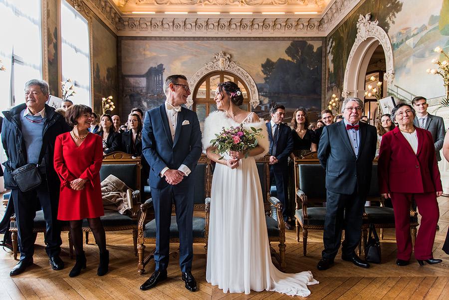 Mariage d'hiver à Paris 9