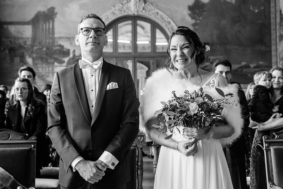 Mariage d'hiver à Paris 12