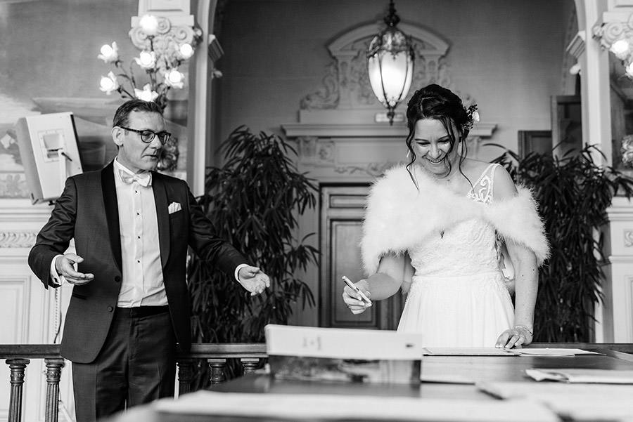 Mariage d'hiver à Paris 13