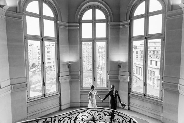 Mariage d'hiver à Paris 1