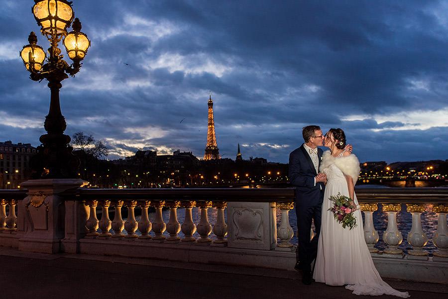 Mariage d'hiver à Paris 36
