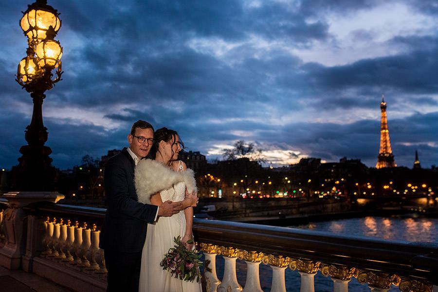 Mariage d'hiver à Paris 37