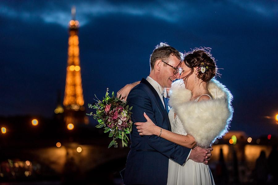 Mariage d'hiver à Paris 38