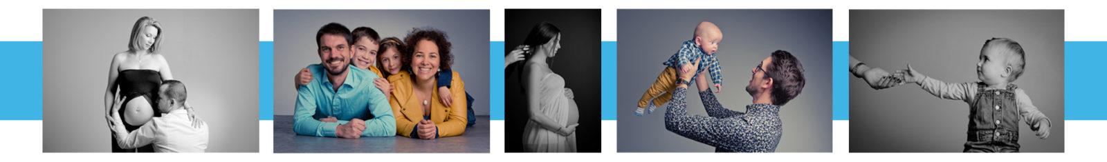 Séance photo de grossesse, en famille ou shooting avec votre bébé