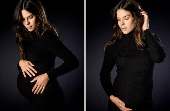 photographe grossesse à Paris en studio